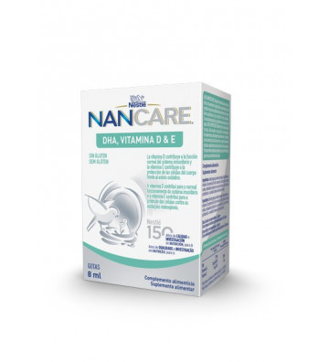 Nancare Dha Vit D/Vit E Gts...